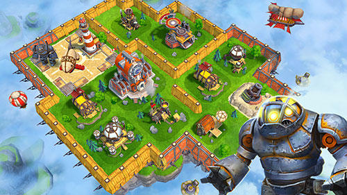 Sky clash: Lords of clans 3D скріншот 1