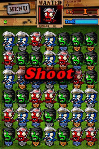 Screenshot Begehrte Zombies auf dem iPhone