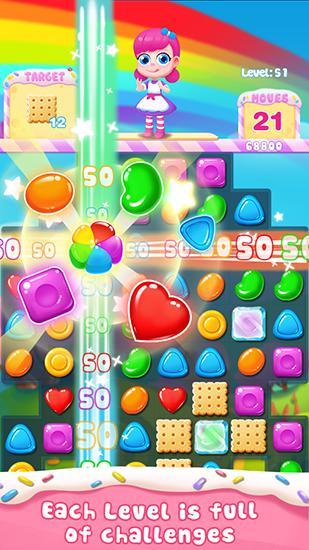 3 Gewinnt Candy story auf Deutsch