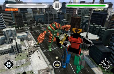 Fighting games: download Power Rangers Samurai Steel to your phone