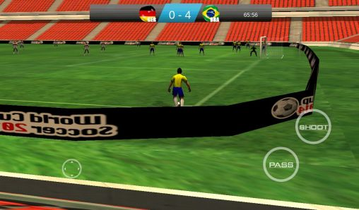 World cup soccer 2014 скриншот 1