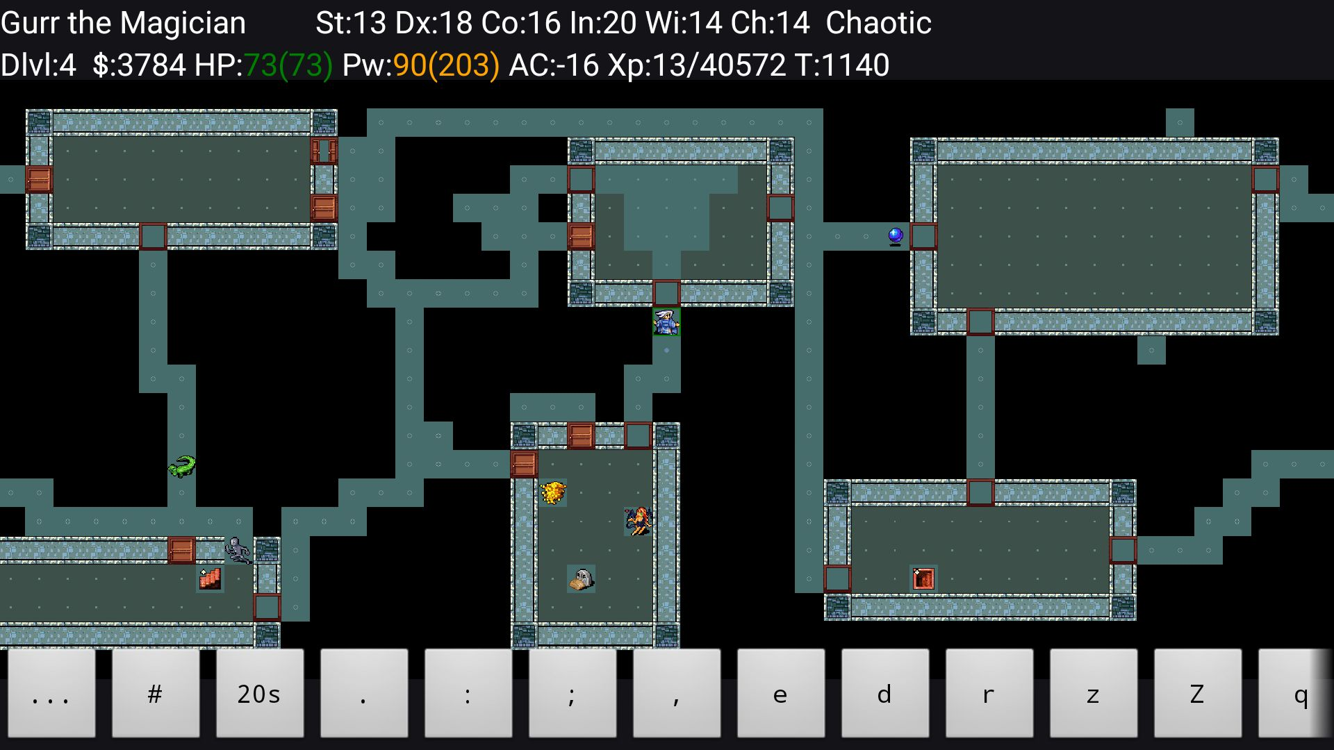 NetHack pour Android