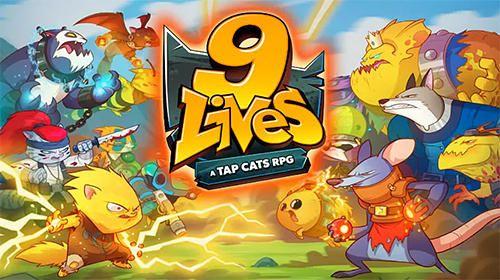 logo 9 vies: Appuyez sur les chats RPG