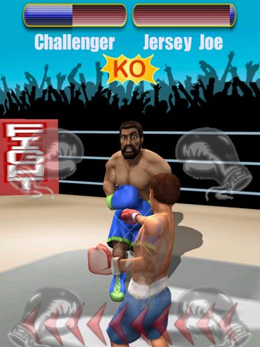 Pocket boxing: Legends in English