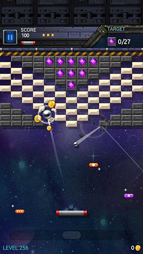 Brick breaker star: Space king для Android