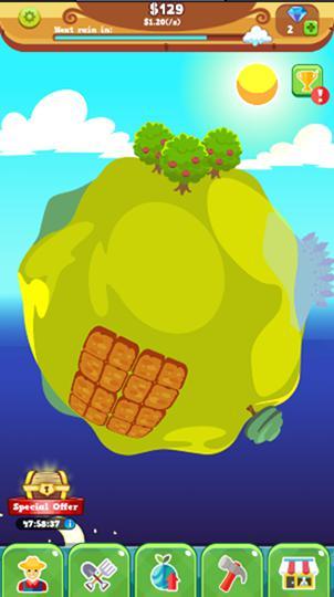 Arcade Tiny farm planet für das Smartphone