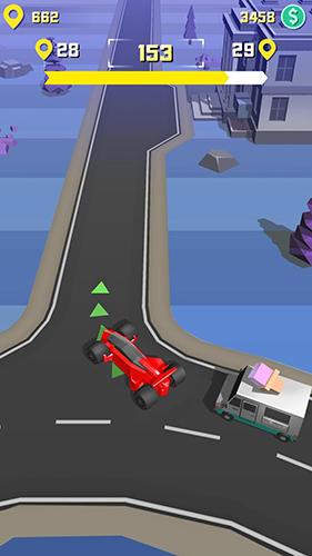 Arcade-Spiele Taxi run für das Smartphone