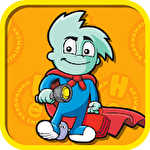 Pajama Sam in No need to hide when it's dark outside icon