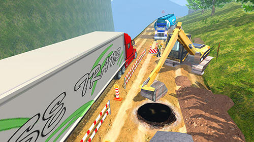 Simulation Offroad truck driving simulator for smartphone