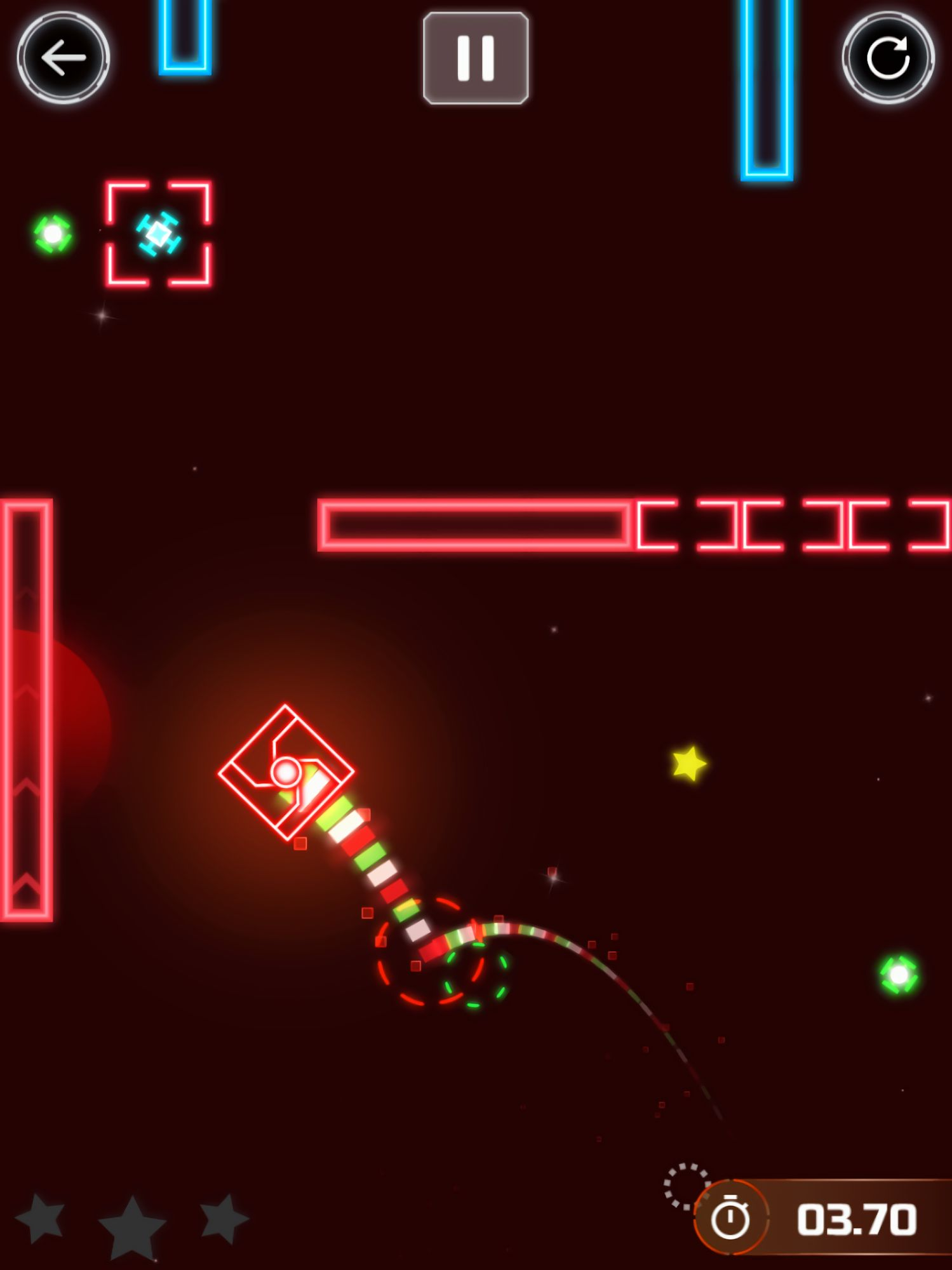 Astrogon - Creative space arcade screenshot 1