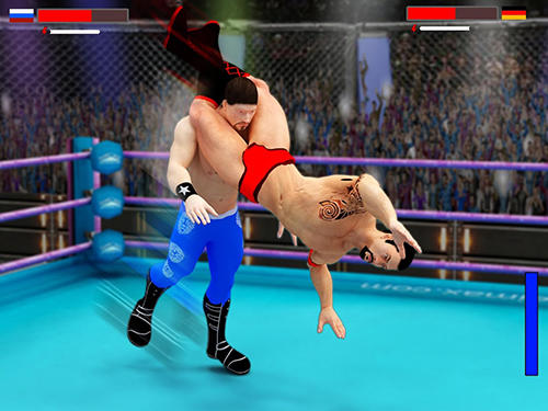 Stars wrestling revolution 2017: Real punch boxing para Android