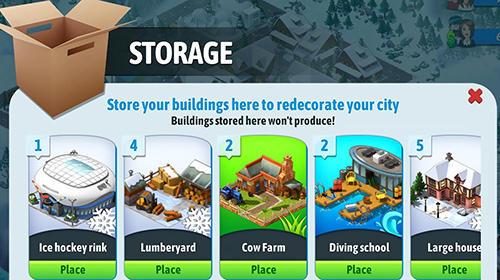 Strategie City island 5: Offline tycoon building sim game für das Smartphone