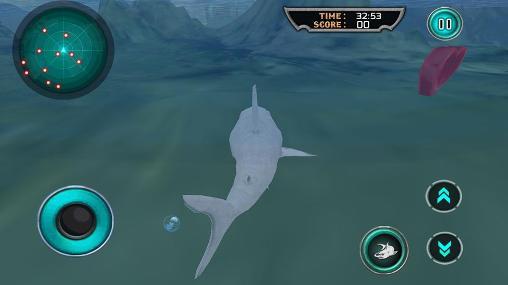 Hungry white shark revenge 3D für Android