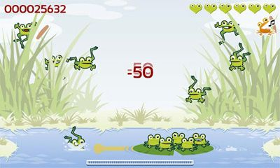 d'arcade The Froggies Game pour smartphone