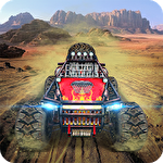 Mad extreme buggy hill heroes icône