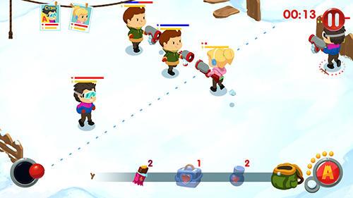 Snowicks: Snow battle auf Deutsch