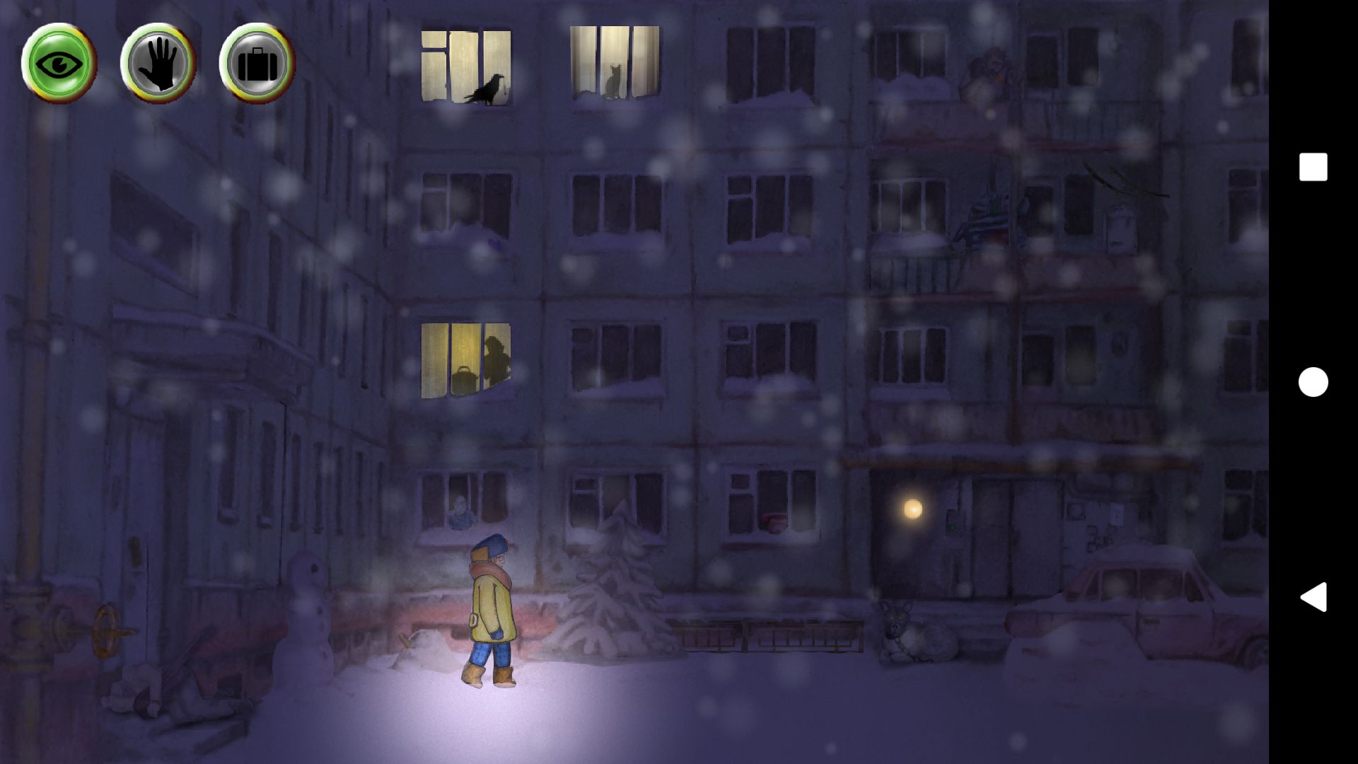 Winter Night Adventure pour Android