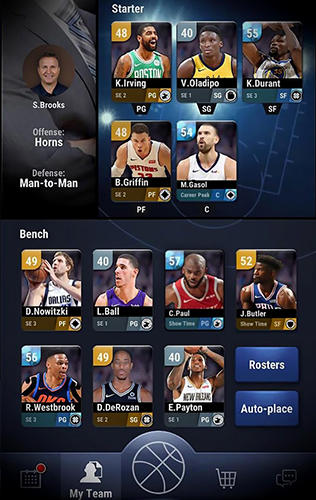 NBA now: Mobile basketball game скриншот 3