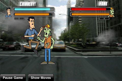 Straßen Zombie Kämpfer für iPhone