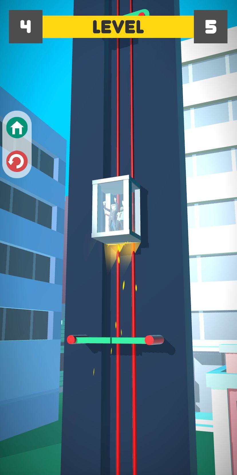 Lift Survival 3D - elevator rescue surviving game capture d'écran 1
