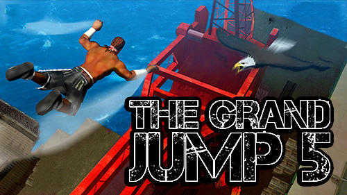 The grand jump 5 icon