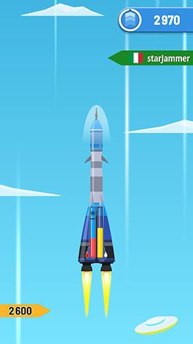 Rocket sky Screenshot