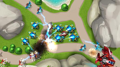 Tower defense: Alien war TD 2 für Android