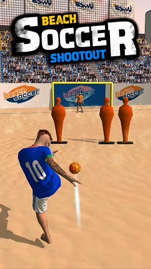 Beach soccer shootout Screenshot