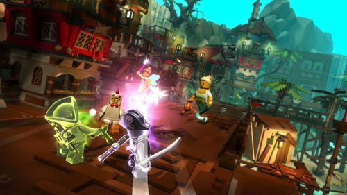 d'action Lego minifigures: En ligne