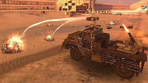 Mad war: Craft and drive скриншот 1