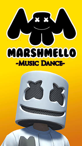 Marshmello music dance ícone