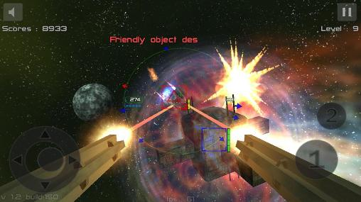 Gunner: Free space defender for Android