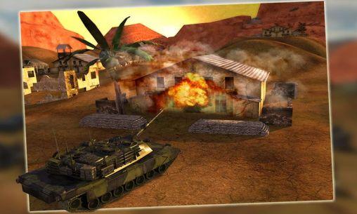 Simulator-Spiele Battlefield: Tank simulator 3D für das Smartphone