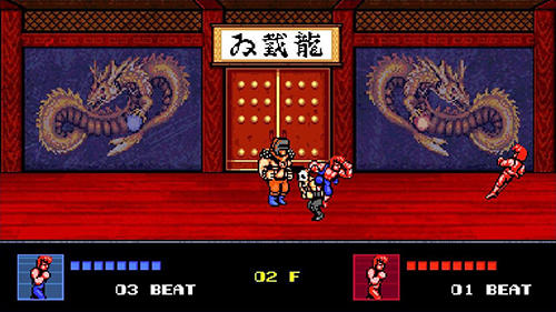 Double dragon 4 für Android