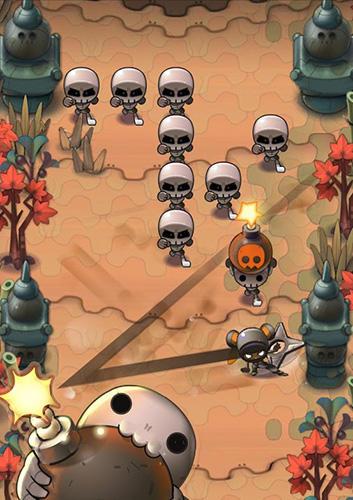 Ninja Nindash: Skull valley auf Deutsch