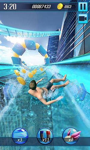 Water slide 3D auf Deutsch