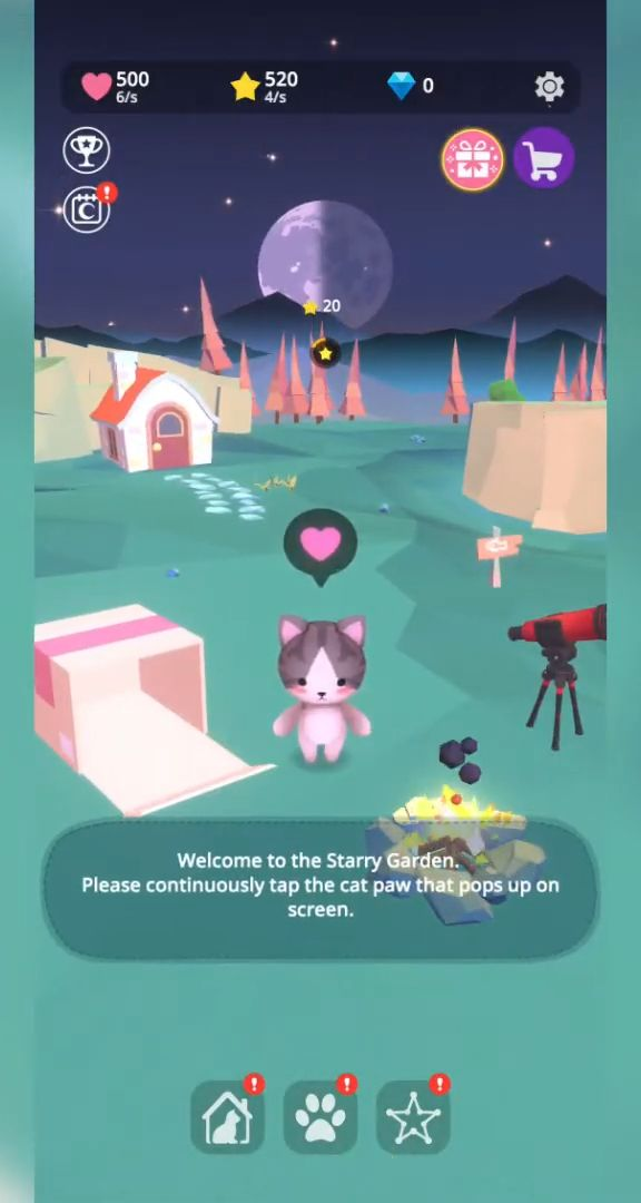 Starry Garden : animal park for Android