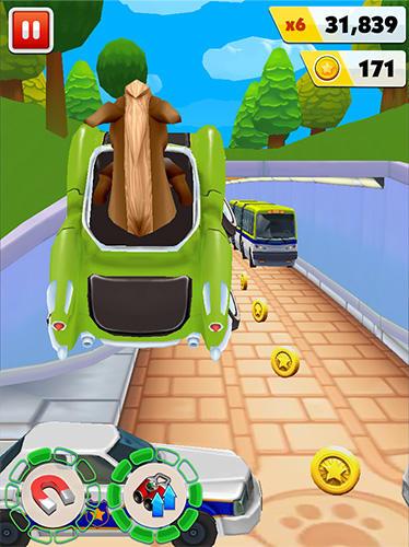 Pony craft unicorn car racing: Pony care girls für Android