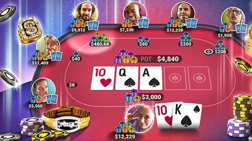 Poker world: Offline texas holdem for Android