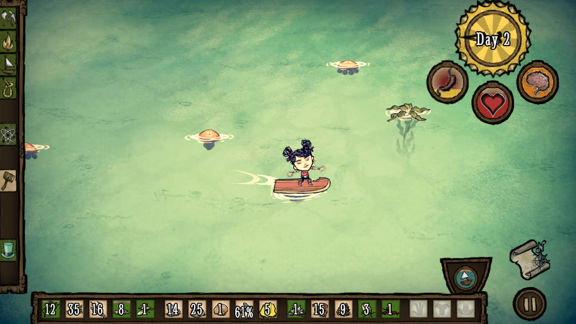 Don't Starve: Shipwrecked captura de tela 1