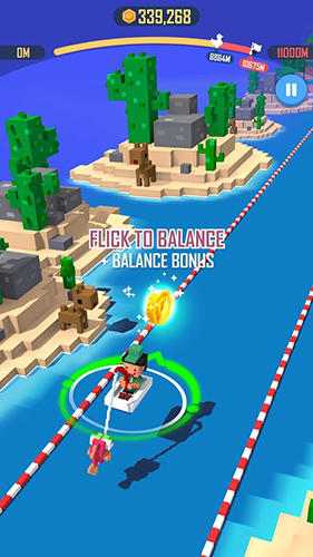 Jump rider: Crazy boat pour Android