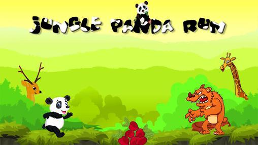 Jungle panda run Screenshot