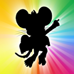Jetpack disco mouse icon