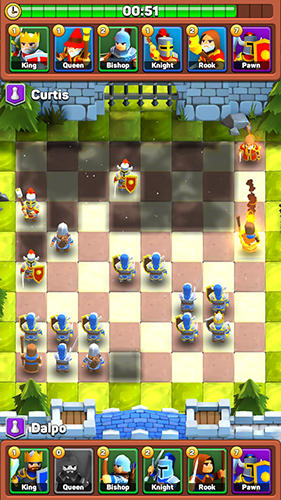 Strategy Battle сhess: Fog of war for smartphone