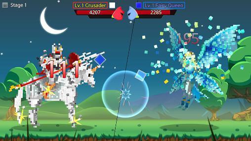 Arcade-Spiele Block monster für das Smartphone