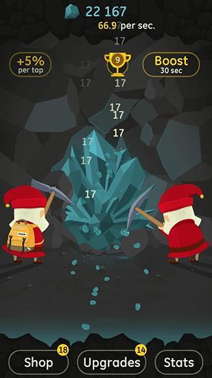 Arcade-Spiele Angry clicker für das Smartphone