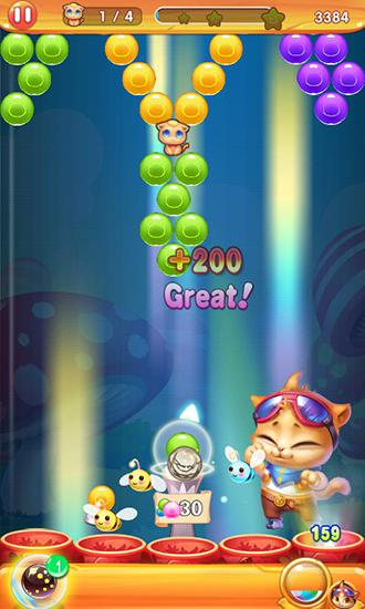 Bubble cat 3 screenshot 1