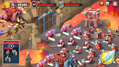 Castle defense: Soldier tower defense strategy game für Android