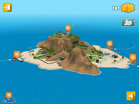Simulator-Spiele LEGO Creator islands für das Smartphone