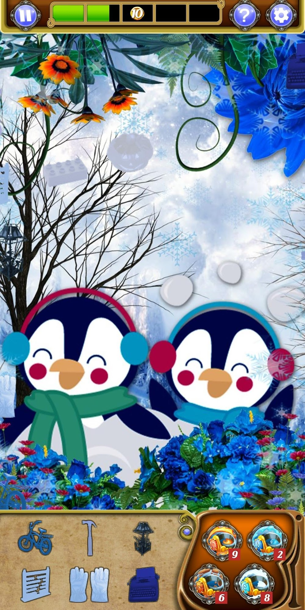 Hidden Object - Winter Wonderland скриншот 1